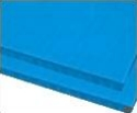 10mm Blue plastic corrugated sheets pads coroplast