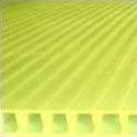 10mm Yellow plastic corrugated sheets pads coroplast