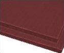 5mm plastic corrugated sheets pads coroplast