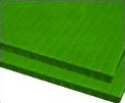 8mm Green 48 x 96 corrugated plastic sheets, 8 mm corrugated plastic sheeting pad