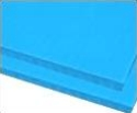 8mm Light Blue 48 x 96 corrugated plastic sheets, 8 mm corrugated plastic sheeting pad