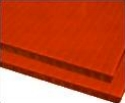 8mm red 48 x 96 corrugated plastic sheets, 8 mm corrugated plastic sheeting pad