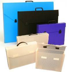 29 x 41 x 2 Corrugated plastic portfolios, for artsit, and workers, protect your artwork and important papers